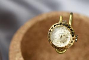 【ビンテージ時計】デッドストック 1978年3月製造 セイコー指輪時計 日本製 当時の雰囲気そのままに