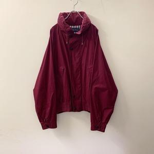 nautica セーリングジャケット バーガンディー size XL メンズ 古着