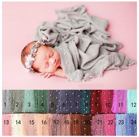 Babyパールの新色おくるみ 90cm×180cm