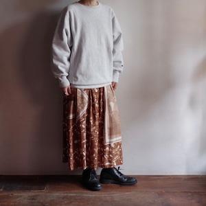 Photo Print Rayon Skirt / フォトプリント レーヨン スカート