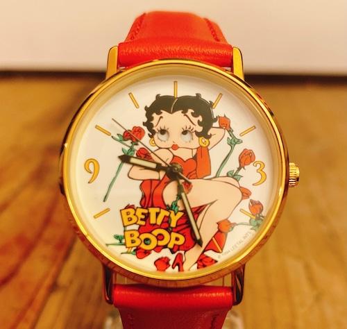 Betty Boop 90`s Tali Red Dress ウォッチ