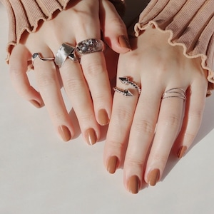 SET RINGS    【通常商品】 DAISY CLEAR RING 5 SET C    5 RINGS    MIX    FBC006