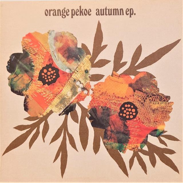 [中古7inch]  Orange Pekoe – Autumn EP
