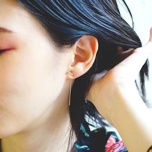 K10 / ピアス (片耳) / 8分音符ロングポストピアス