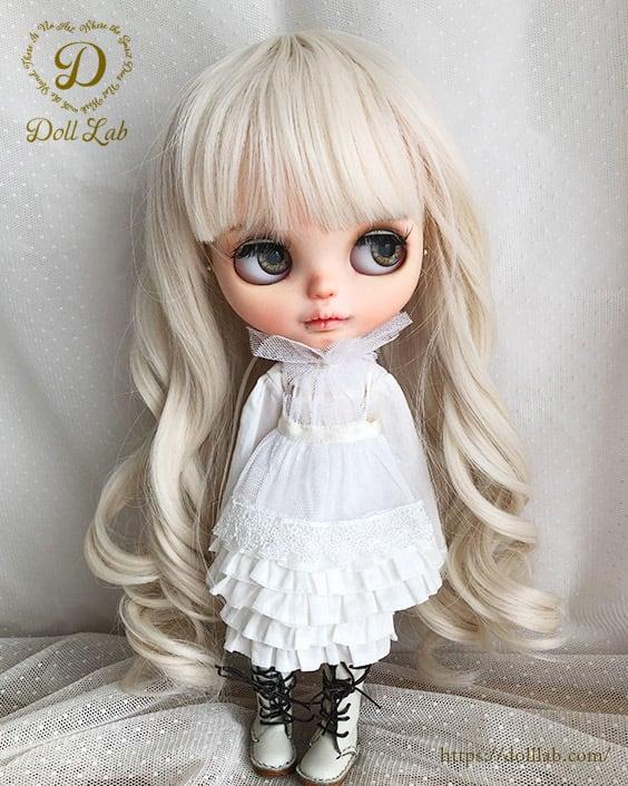 プリンセストルタ[12inch 髪ありブライス ]象牙色  DWL004-A012-12in