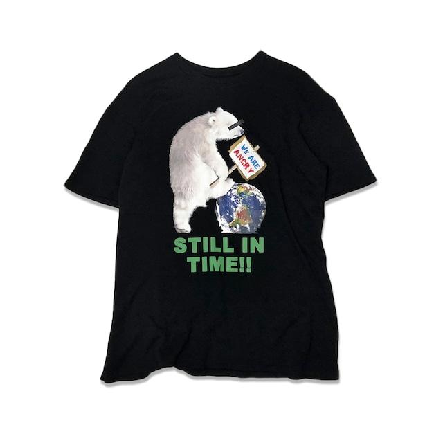 """《特別在庫商品》""""STILL IN TIME"""" オーガニックコットン BIG Tシャツ"""