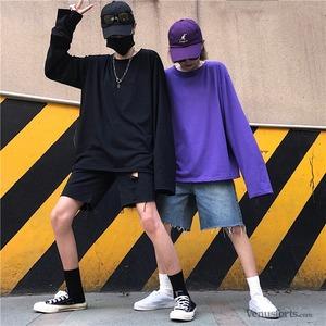 【トップス】長袖無地シンプルTシャツ43011937