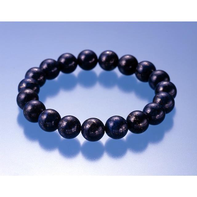 【第三の目の覚醒】高品質・大珠 天然石 ラピスラズリ 19珠ブレスレット(10mm)