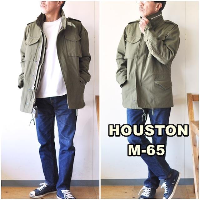 HOUSTON ヒューストン M-65 フィールドジャケット  50815   M-65 フィールドジャケット ライナー付き ミリタリージャケット