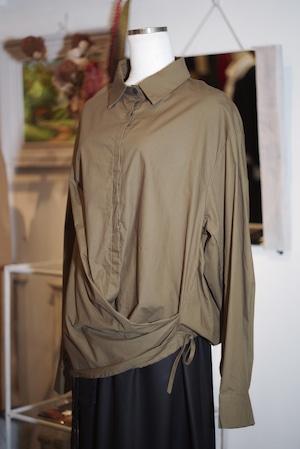 Unisex's / SHIRT of covered waist design