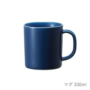 西海陶器 波佐見焼 「コモン」 マグ 330ml ネイビー 13260