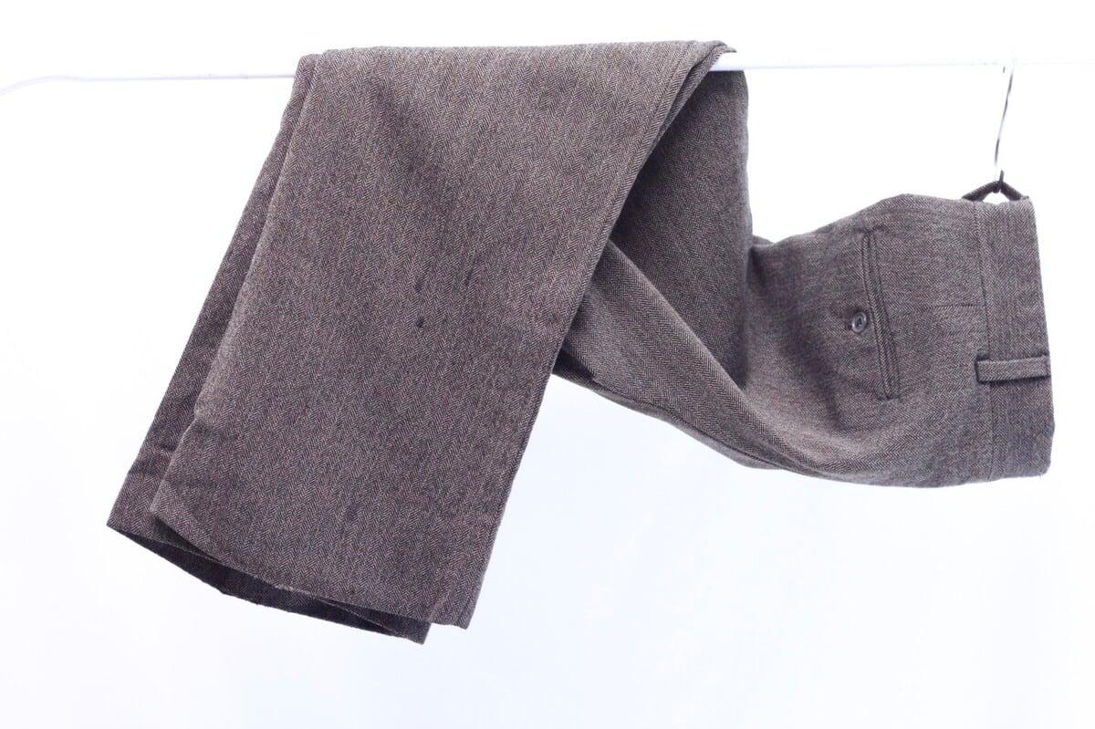 80's tweed slacks