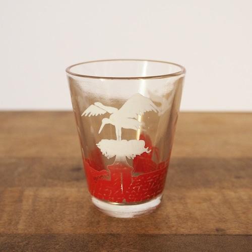 コウノトリのミニグラス