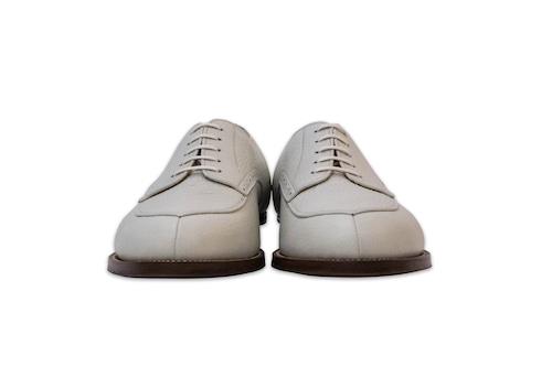 premio gordo limited by GAUCHO capa white v-tip for men 394-400