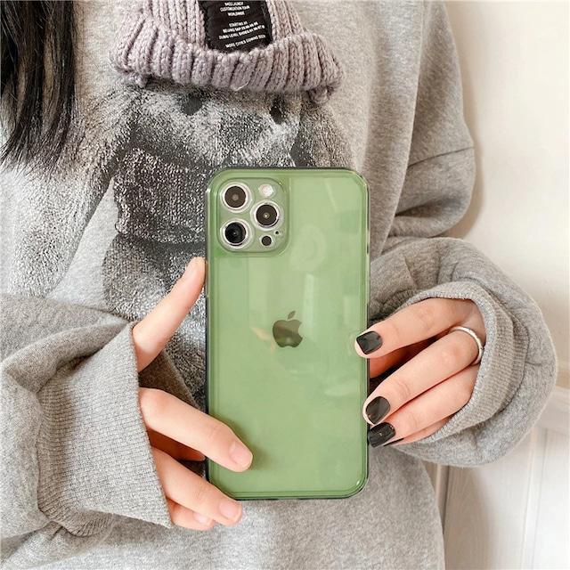 Reto jelly green iphone case