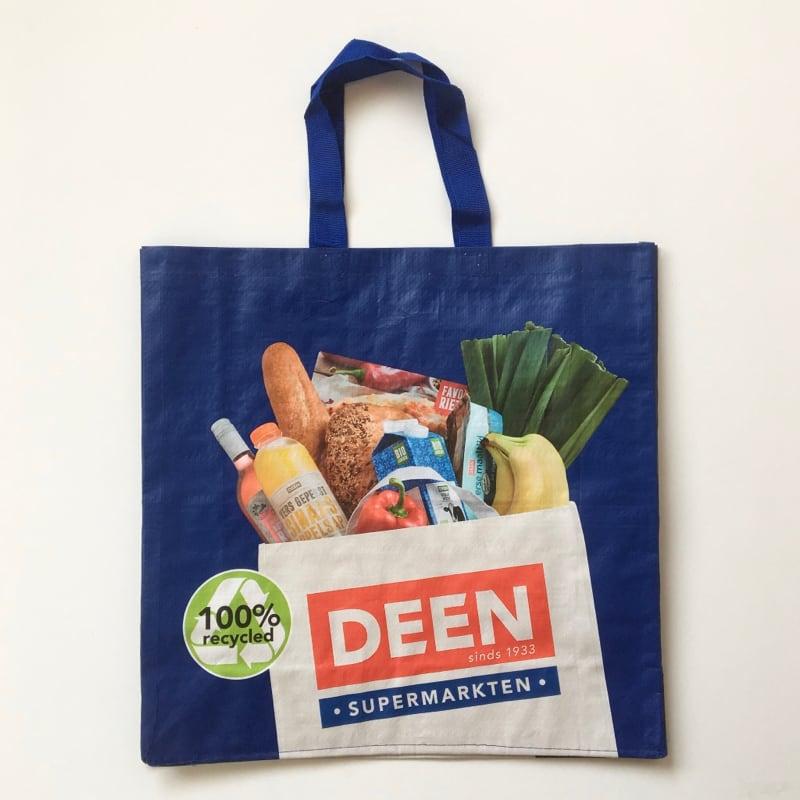 ショッピングバッグ オランダ スーパー マーケット 「DEEN」