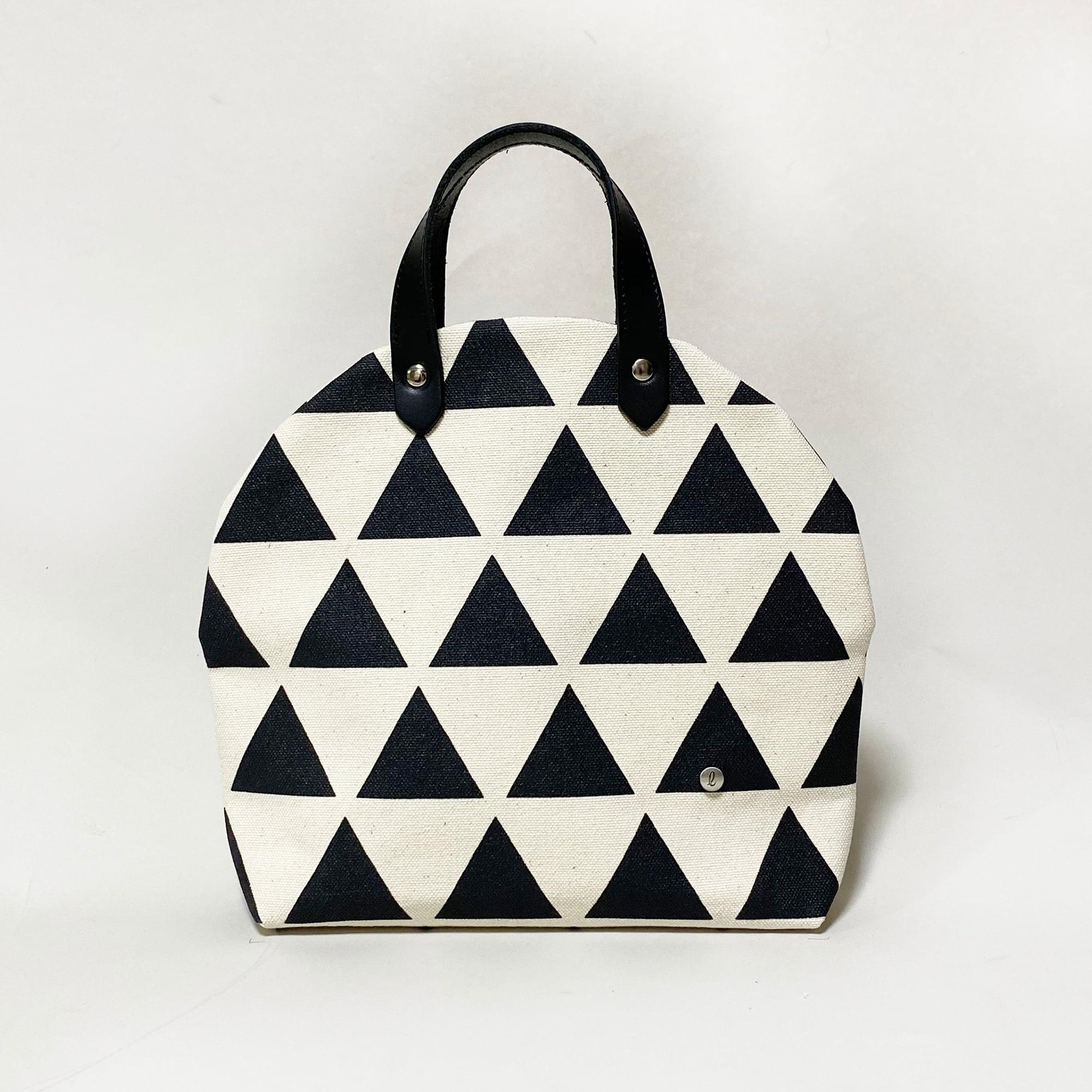 cupcake bag/black × scale カップケーキバッグ/ 墨 x 鱗