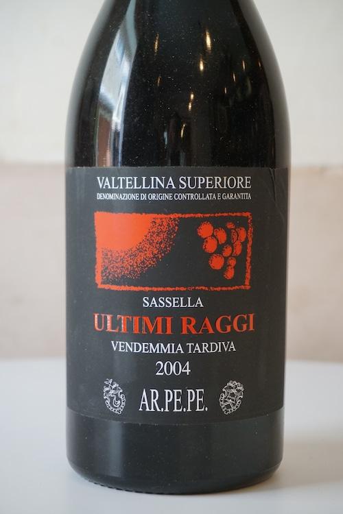 Sassella Ultimi Raggi 2004 1500ml / AR.PE.PE( サッセッラ ウルティミラッジ / アールペペ )