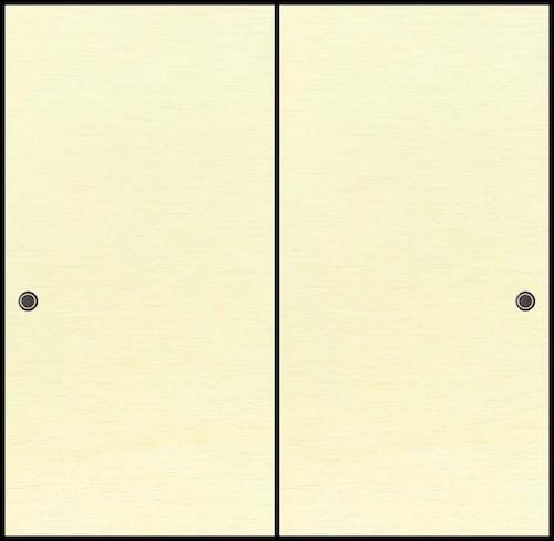 吉兆20(無地柄) 織物ふすま紙 203cm×100cm 1枚