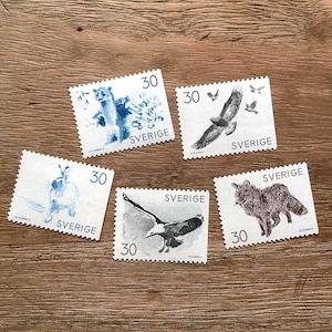 切手(未使用)「野生の動物 - 5種セット(1968)」