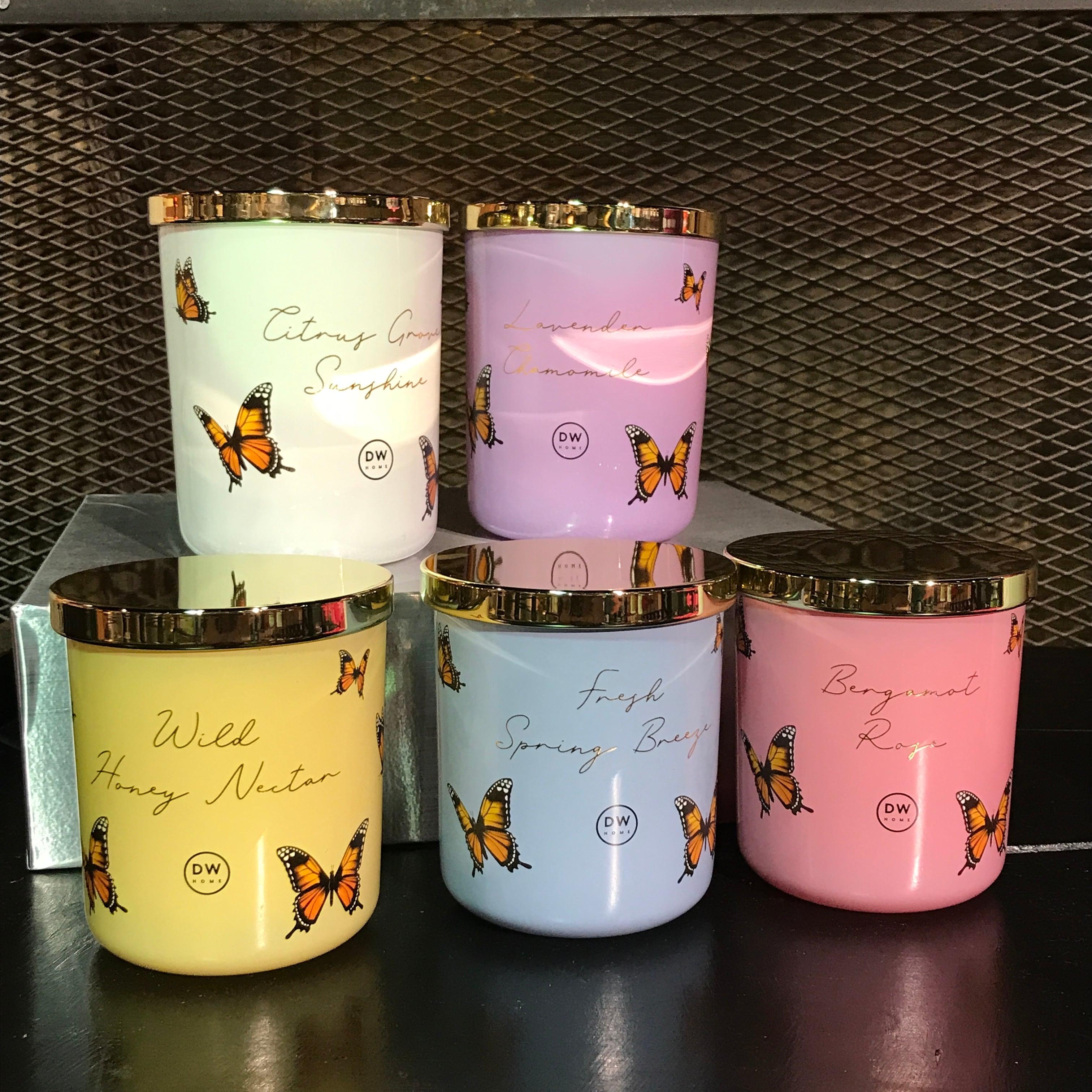 【DW Home Candles】ROSE & BERGAMOT【アロマキャンドル】