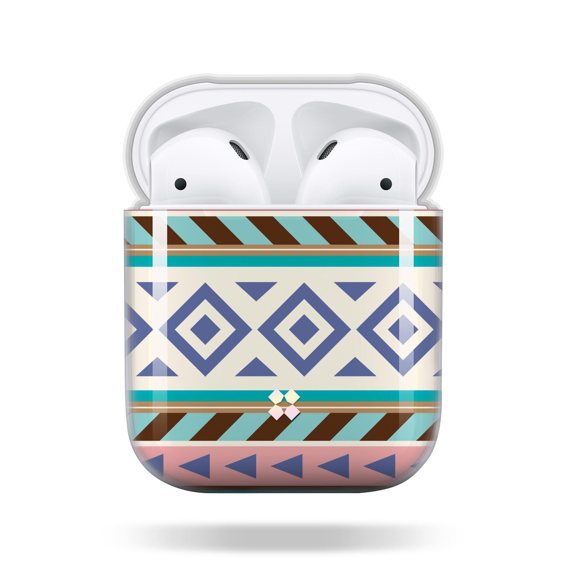 CaseStudi ケーススタディ PRISMART AirPods Case 2018 エアーポッズ ハード ケース 男女兼用 民族柄 ネイティブ Native 国内正規品