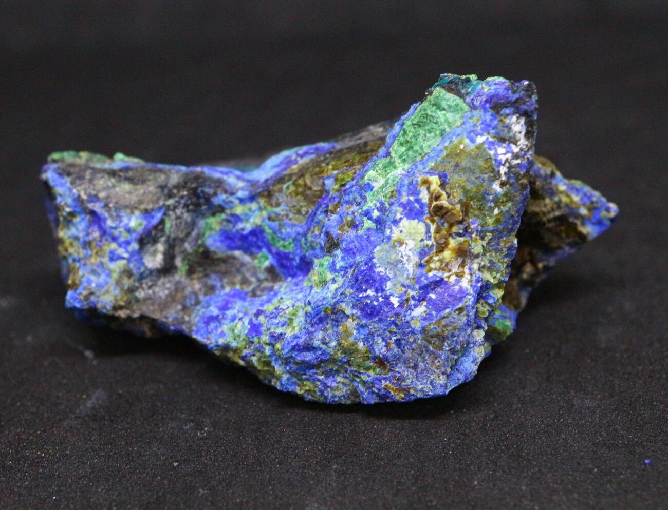 アリゾナ産 アズライト アジュライト 15,8g 原石 鉱物 標本 AZR002