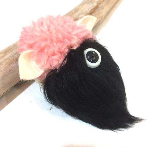 MAMEDENQ モコモコノコ ブラックプードル×シープ帽