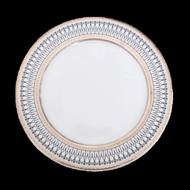 Gold line design frame plate 26.5cm  / ゴールドラインデザインフレームプレート 26.5cm