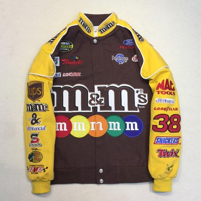 【SELECT】M&M'sレーシングブルゾン