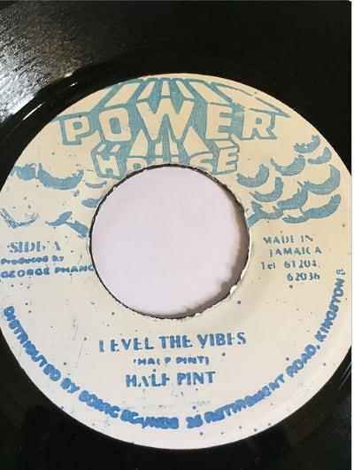 Half Pint(ハーフパイント) - Level The Vibes【7'】