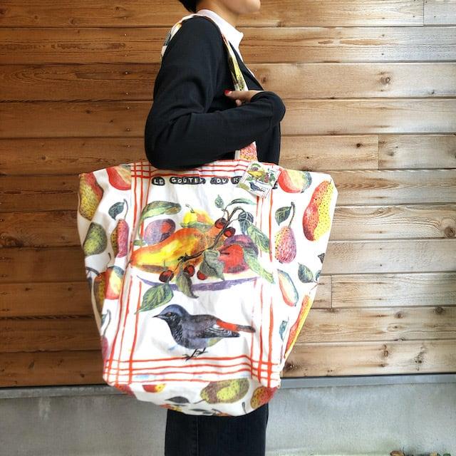 "Nathalie Lete ""  Fruits&Bird Market Bag"" ナタリーレテ  マーケットバッグ"