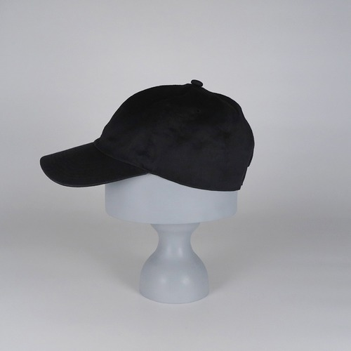 SS21-BD-8 Ramie W-Face Cap - BLK