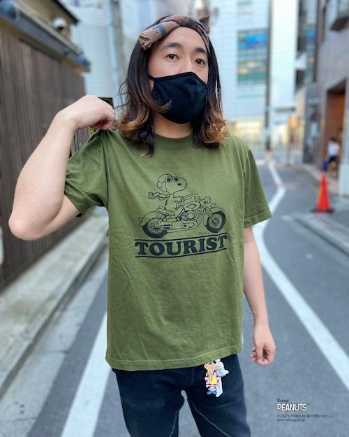 【PEANUTS】SNOOPY × DUSTANDROCKS Tシャツ ピーナッツ スヌーピー コラボレーション