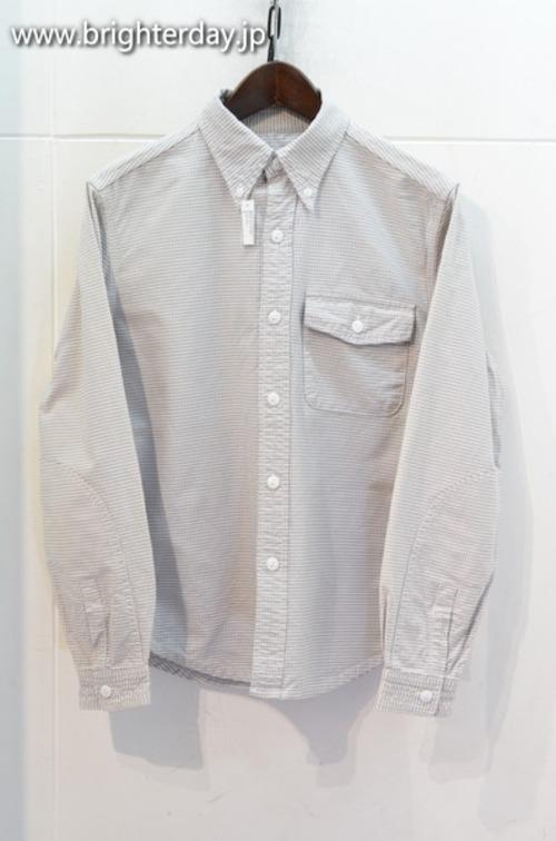 SASSAFRAS ボタンダウンシャツ