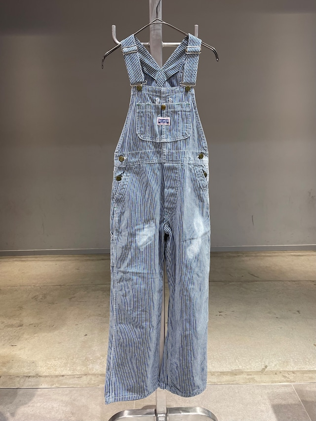 (KD297)  BIG SMITH hickory overall made in USA