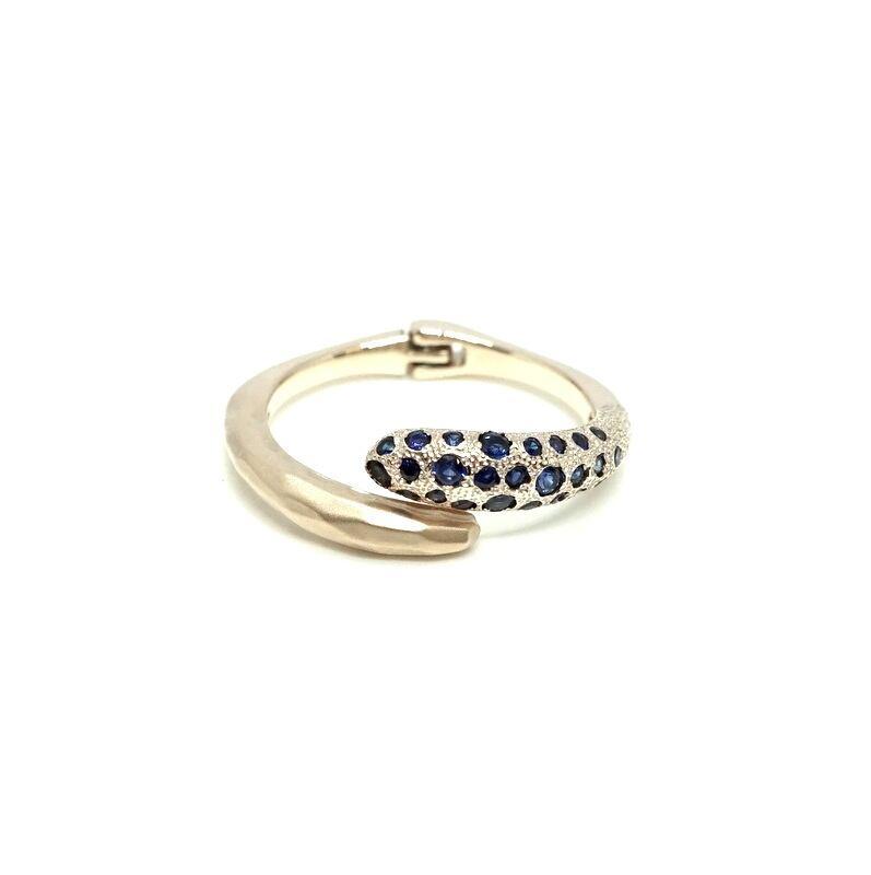 Milkyway ring Blue sapphire - K10YG