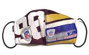 【デザイナーズマスク 吸水速乾COOLMAX使用 日本製】NFL SPORTS MASK CTMR 0225028