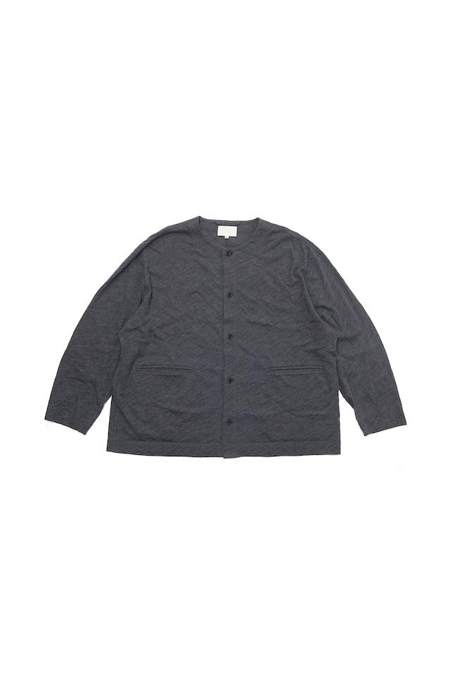 YOKO SAKAMOTO / SOFT TAILORED CARDIGAN(CHARCOAL GREY)