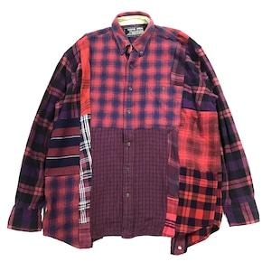 REMAKE  SHIRTS リメイクチェックシャツ【Shirts27】