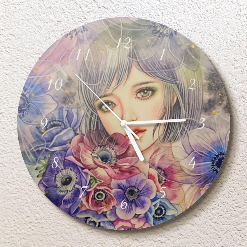 私はここにいます壁掛け時計(L)