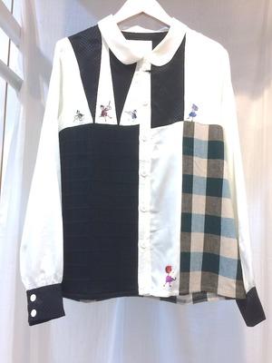 MELANTRICK HEMLIGHET 服のかみさまシャツ