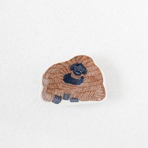 KATAKATA印判手豆皿(オラウータン)