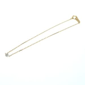 lazerhole dia bracelet - round 0.171ct K18YG