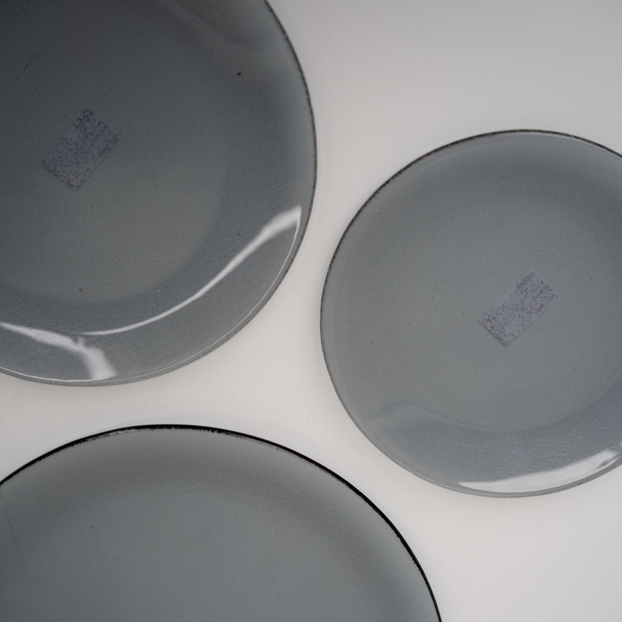 スモークガラス プレート 19.5