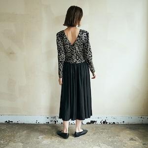 【送料無料】 Bijou black dress