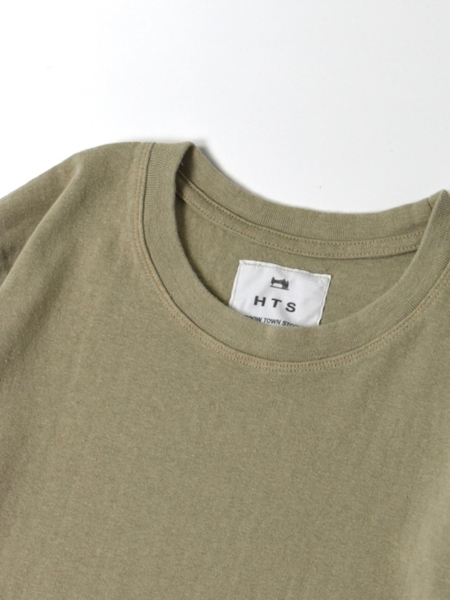【HTS】MADE IN JAPAN COTTON JERSEY CREW-NECK T-SHIRT