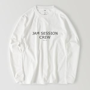 JAM SESSION CREW LONG T (WHITE)
