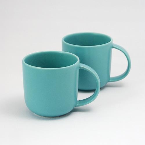 "AND C ""aina"" series MugCup <S> pair 全6色 瀬戸焼 マグカップ"