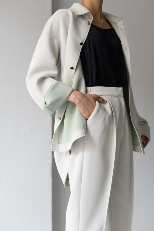 ROOM211 / Bonding shirt JK (white)
